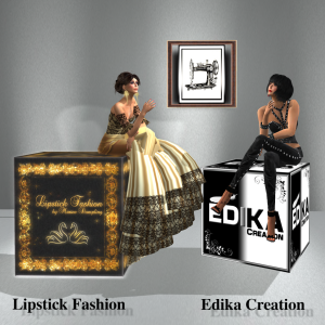 Logos Lipstick Fashion & Edika Creation